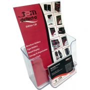 DEFLECTO BROCHURE HOLDER A5 WITH CARD HOLDER