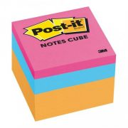 3M POST IT NOTES 2051 48X48MM ORANGE WAVE CUBE