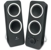 LOGITECH Z200 5W MULTIMEDIA SPEAKERS BLACK