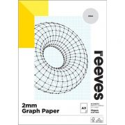 REEVES GRAPH PAD 2MM A3 BLUE
