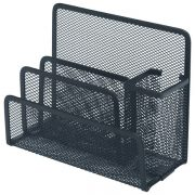 ESSELTE MESH DESK ORGANISER BLACK