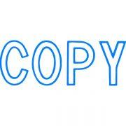 XSTAMPER CX-BN 1006 COPY BLUE