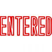 XSTAMPER CX-BN 1021 ENTERED RED