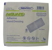ADHESIVE ISLAND DRESSING 80X100MM BOX 50