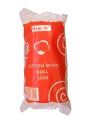 COTTON WOOL ROLL 100G