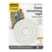 SCOTCH FOAM MOUNTING TAPE 4013 12.7MM X 3.8M HEAVY DUTY