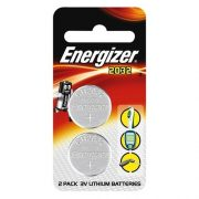 ENERGIZER CR2025 3V LITHIUM CELL BATTERY 2PK