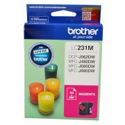 BROTHER LC231 MAGENTA INK CARTRIDGE