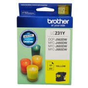 BROTHER LC231 YELLOW INK CARTRIDGE