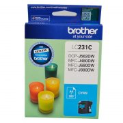BROTHER LC231 CYAN INK CARTRIDGE