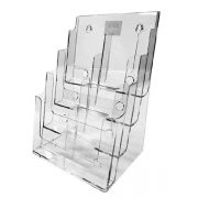 DEFLECTO BROCHURE HOLDER DLE 4 TIER 8 POCKETS