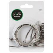 DIXON BOOK RINGS 50MM PACK 3