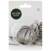 DIXON BOOK RINGS 38MM PACK 5