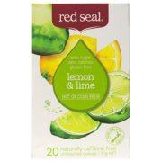 RED SEAL FRUIT TEA LEMON & LIME 20PK