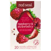 RED SEAL FRUIT TEA RASBERRY & STRAWBERRY 20PK