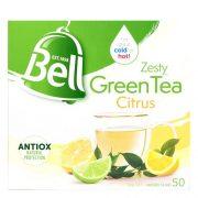 BELL ZESTY CITRUS GREEN TEA BAG BOX 50