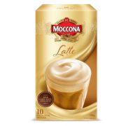 MOCCONA CAFE LATTE INSTANT COFFEE SACHETS 10PK