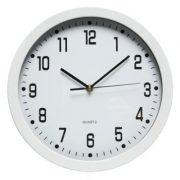 DIXON WHITE 30CM WALL CLOCK