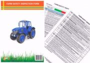 TAKE 5 FARM SAFETY INSPECTION FORM PAD