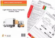 TAKE 5 VEHICLE INSPECTION REPORT PAD