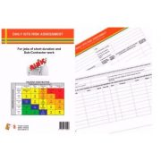 TAKE 5 DAILY SITE RISK ASSESSMENT PAD