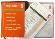 TAKE 5 WORKERS HEALTH & SAFETY BOOKLET JOB SAFETY REFILL