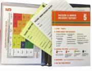 TAKE 5 WORKERS HEALTH & SAFETY BOOKLET MINOR INCIDENT/HAZARD REPORT REFILLS