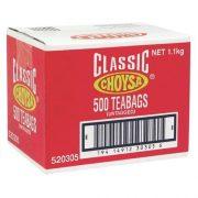 CHOYSA TEA BAGS 500S