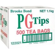 PG TIPS TEA BAGS 500 PACK