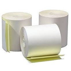 ICON THERMAL PAPER ROLL 76X76 2PLY BOX 50