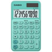 CASIO SL-310UC HANDHELD CALCULATOR GREEN