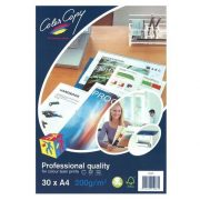 COLOUR COPY LASER PAPER A4 200GSM WHITE PACK 30