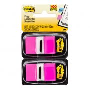 3M POST IT FLAGS 680 25X43MM BRIGHT PINK 100PK