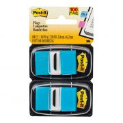 3M POST IT FLAGS 680 25X43MM BRIGHT BLUE 100PK