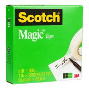 SCOTCH 810 MAGIC TAPE 25MM X 66M