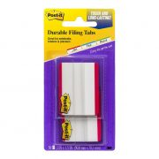 3M POST IT DURABLE TABS 686 38X50MM RED 50PK