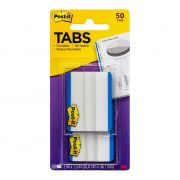 3M POST IT DURABLE TABS 686 38X50MM BLUE 50PK