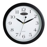 CARVEN 25CM WALL CLOCK BLACK