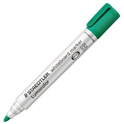 STAEDTLER LUMOCOLOR 351 BULLET WHITEBOARD MARKER GREEN