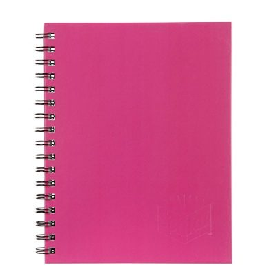 SPIRAX 512 HARD COVER NOTEBOOK A4 PINK