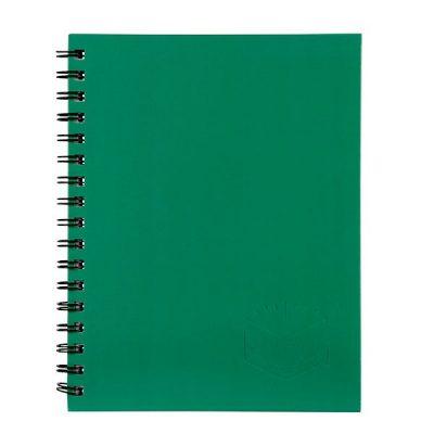 SPIRAX 511 HARD COVER NOTEBOOK A5 GREEN