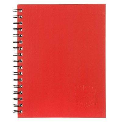 SPIRAX 511 HARD COVER NOTEBOOK A5 RED