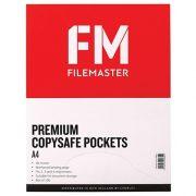 FM COPYSAFE POCKETS A4 PREMIUM BOX 100