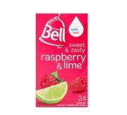 BELL RASPBERRY & LIME FRUIT TEA 24 PACK