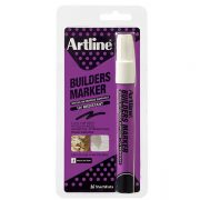 ARTLINE BUILDERS PERMANENT MARKER WHITE